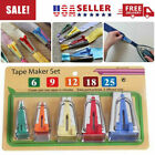 Купить Bias Tape Fabric Maker Kit Set for Sewing Quilting Awl and Binder Foot Case#lgh