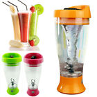 350ML Electric Protein Shaker Blender Tornado Nutrition Mixer Bottle Cup Fitness