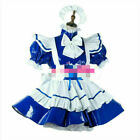 PVC sissy maid dress lockable cross dressers Tailor-made Free shipping