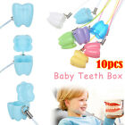 New Gift Cute Baby Teeth Box Multicolor False Tooth Case Dental Clinic