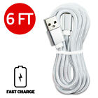 2 Pack 3 6 10FT Long Cable Heavy Duty Charger Charging For Apple iPhone iPad iOS