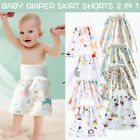 Comfy Reusable Baby Diaper Skirt Shorts 2 in 1 Boy's Girl's Training Skirt AA
