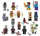 LEGO Minecraft Minifigures and Animals - Brand New - 21164 - 21137 - 21160