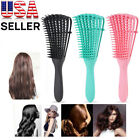 Detangling Brush Anti-Static Comb Salon Styling Hair Wet/Dry Curly Natural Hair