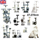37-270cm Cat Tree House Tower Condo Kitty Stand Scratching Post Activity Centre