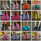 4/10 Pairs Fashion High Sheel Shoes For 11.5/12* Doll Sale Accessories Hot A0C3