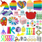 1-100 Pack Fidget Sensory Toy Set Stress Reliever Autism Anxiety Kids Adults Toy