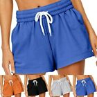 1 Women Casual Elastic Waist Short Ladies Summer Loose Beach Hot Pants Plus Size