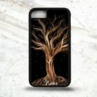 Tree of life magic symbol pattern graphic personalised name phone case cover