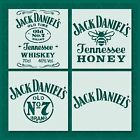 Jack Daniels stencil - Reusable & Durable - 10 Mil plastic Tennessee Whiskey