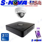 HIKVISION 8CH HOME SECURITY KIT CCTV SYSTEM HD 4 DOME 1080P  VANDAL PROOF