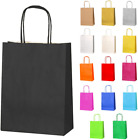 Thepaperbagstore 10 Small Paper Party Bags, Gift And Sweet Bags With Twist Handl