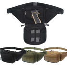 Concealed Carry Gun Pistol Pouch Tactical Fanny Pack Holster Bags Waist Packs