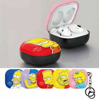 Case Cover with Simpsons Character for Samsung Galaxy Buds Pro / Buds Live
