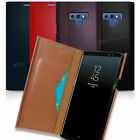 Phantom102 Genuine Leather Flip Case for Samsung Galaxy Note20 Note10 Note 9 8 5