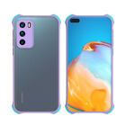 For Huawei Mate 20 30 Pro P30 40 Pro Transparent Candy Color Border Case Cover