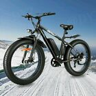 Max^1000W 48V Fat Tire Electric Bike Mountain Bicycle 26in  Snow Beach Fashion~|