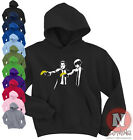 Banksy Pulp Fiction urban art graffiti Hoodie 7 colours