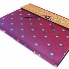 Fair Trade Handmade Extra Large Sari Photo Albums, Eco Friendly Recycled Paper