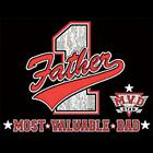 MOST VALUED DAD GIFT NOVELTY T-SHIRTS FAMILY  LD Gildan Ultra Cotton Tee