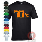 Made in the 70's birthday fancy dress retro old school style funny T-shirt