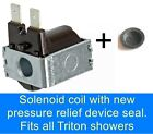 ELECTRIC SHOWER NO WATER?   SOLENOID COIL!  EASY DIY REPAIR YOUR OWN SHOWER