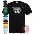 8th DAY GOD CREATED AUDI Quattro A4 A5 A6 TT T-shirt