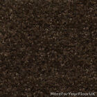 Cheap 5 Metre Wide Carpet, Dark Brown Feltback Twist