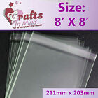 Cello Bags for Greeting Cards   Clear   Cellophane Bag