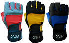 AMARA WRIST SUPPORT WEIGHT LIFTING TRAINING BODYVUILDING GYM EXERCISE GLOVES