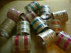 24 Indian Bangles Bracelets Bollywood Gold COLOURS