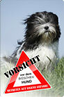+++ LHASA APSO - METALL WARNSCHILD FUN SCHILD - PSO 01