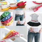 Women's square buckle waist Belt candy color 9 color