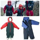 TOGZ BOYS/GIRLS/BABY/CHILDRENS WATERPROOF WARM & DRY FLEECE LINED RAIN/SNOW SUIT