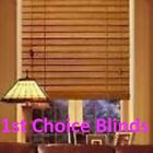 MADE TO MEASURE WOODEN VENETIAN WINDOW BLIND REAL WOOD 50MM SLATS