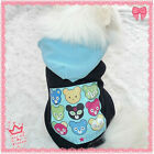 9 Bears Logo Fleece Dog Clothes Coat pet clothes Dog Hoodie