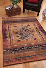TRADITIONAL PERSIAN STYLE THICK HARDWEARING XL LARGE SMALL BROWN RUGS 4 SIZES