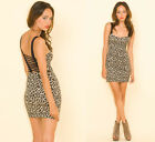 NEW MOTEL LESLEY CAGE BACK DRESS IN BENGAL PRINT - RRP £32