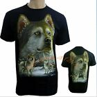 Siberian Alaskan American Husky Dog Puppy Puppies Dogs Cute T Shirt Top NEW