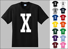 Capital Letter X Alphabet T-Shirt