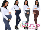 NEW Very Comfortable Maternity Cotton Leggings Full Ankle Length PREGNANCY HQ