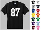 Number 87 Eighty Seven T-Shirt