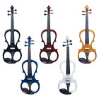 Styles Best Deals - Cecilio Electric Violin Right or Left Handed Size 4/4 3/4 1/2 ~4 Styles 5 Colors