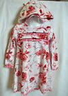 NEW Baby Nay French Roses Dress Set 2T 3T 4T Hat Bows