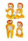 0-30M Baby Boy Girl Animal Safari Party Clothes - Lion Costume Romper Body Suit