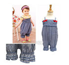 Baby Girl Summer Outfit, Hot Straps Polka Dot & Bow Girls Outfit 3 6 9 12M