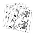 1000 Self Adhesive Shipping Labels 2 Per Sheet for USPS Paypal UPS Ebay 8.5x11