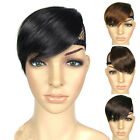 Brand new Girls Clip in on Bang Fringe Hairpiece Hair Extension Bang 4 Colors
