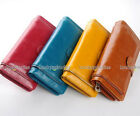 1 pcs in 4 Color Lady Zipper Decorated Long Wallet Purse Coin Bag Card Holder