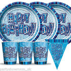 Blue Glitz All Birthday Ages Party Items Decorations One Listing PS